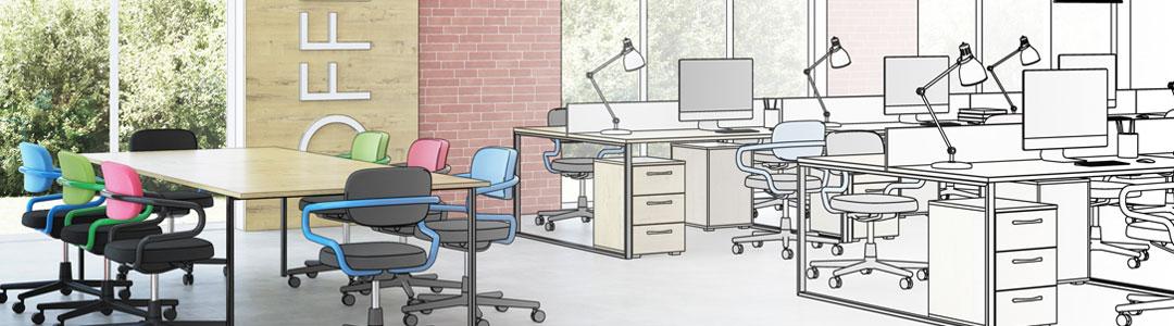 Architecte pour l'aménagement d'un bureau